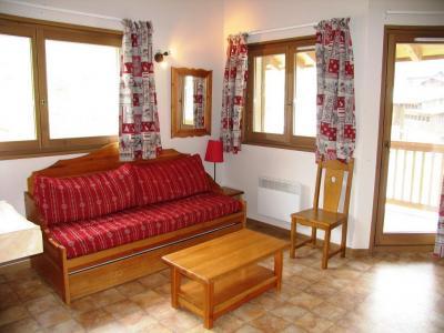 Location au ski Appartement 3 pièces 6 personnes (A78) - Residence Le Bonheur Des Pistes - Val Cenis - Canapé