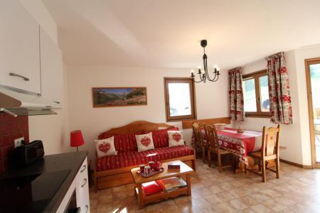 Location au ski Appartement 3 pièces 6 personnes (B15) - Résidence le Bonheur des Pistes - Val Cenis - Coin repas