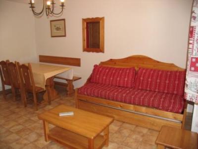 Location au ski Appartement 3 pièces 6 personnes (B21) - Residence Le Bonheur Des Pistes - Val Cenis - Canapé