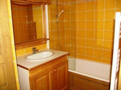 Location au ski Appartement 3 pièces 6 personnes (B27) - Residence Le Bonheur Des Pistes - Val Cenis - Salle de bains