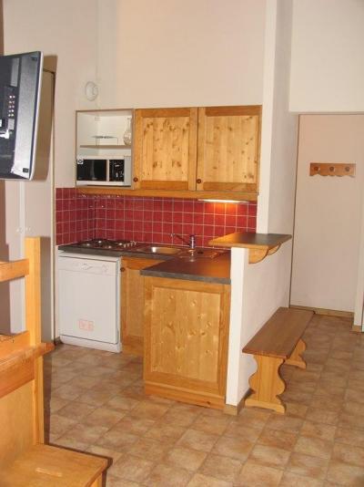 Location au ski Appartement 3 pièces 6 personnes (B35) - Residence Le Bonheur Des Pistes - Val Cenis - Kitchenette