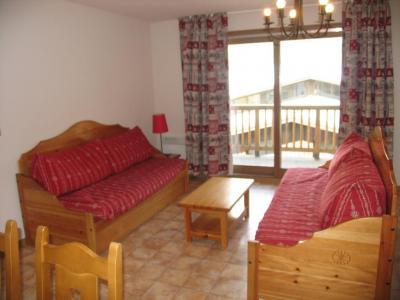 Location au ski Appartement 3 pièces 7 personnes (B30) - Residence Le Bonheur Des Pistes - Val Cenis - Canapé