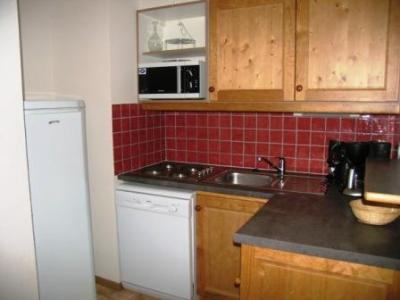 Location au ski Appartement 3 pièces 7 personnes (B30) - Residence Le Bonheur Des Pistes - Val Cenis - Kitchenette
