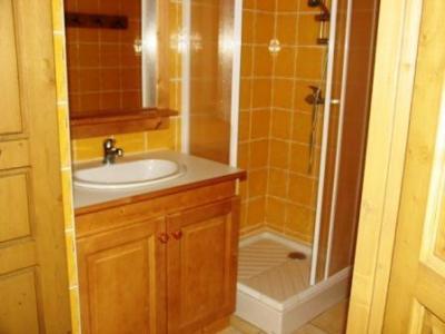 Location au ski Appartement 3 pièces 7 personnes (B30) - Residence Le Bonheur Des Pistes - Val Cenis - Salle de bains