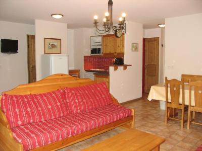Location au ski Appartement 3 pièces 7 personnes (B42) - Residence Le Bonheur Des Pistes - Val Cenis - Canapé