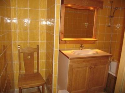 Location au ski Appartement duplex 4 pièces 10 personnes (A73) - Residence Le Bonheur Des Pistes - Val Cenis - Lavabo