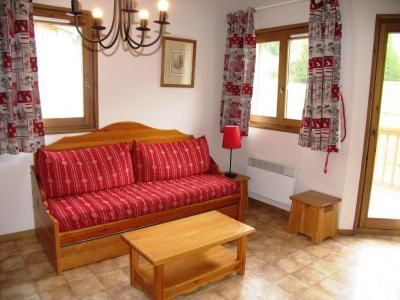 Location au ski Appartement duplex 4 pièces 10 personnes (A77) - Residence Le Bonheur Des Pistes - Val Cenis - Canapé