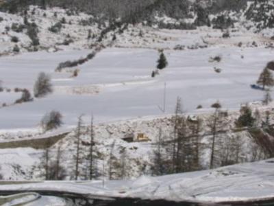 Location au ski Appartement duplex 4 pièces 8 personnes (A61) - Residence Le Bonheur Des Pistes - Val Cenis - Extérieur hiver