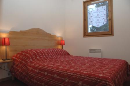 Location au ski Residence Le Bonheur Des Pistes - Val Cenis - Lit double