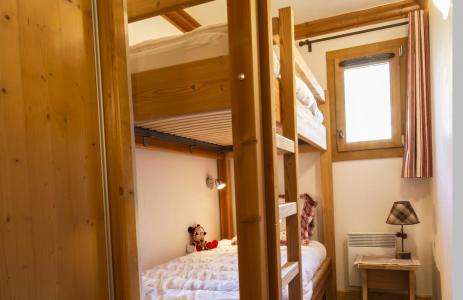 Аренда на лыжном курорте Апартаменты 4 комнат 6 чел. - Résidence le Critérium - Val Cenis - Двухъярусные кровати