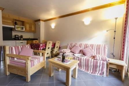 Location au ski Appartement 3 pièces 4-6 personnes - Residence Le Criterium - Val Cenis - Table basse