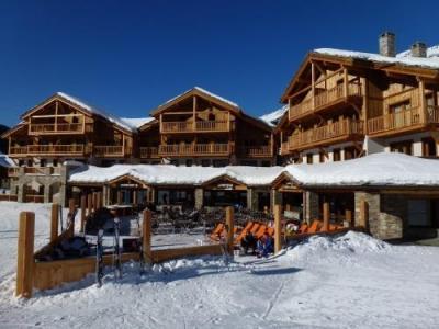 Location au ski Residence Le Criterium - Val Cenis - Extérieur hiver