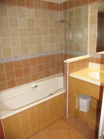 Location au ski Appartement 2 pièces 4 personnes (316) - Residence Les Alpages - Val Cenis - Baignoire