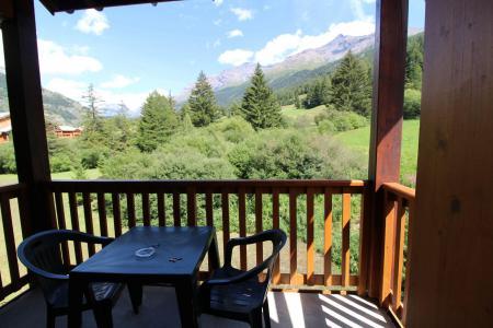 Location au ski Appartement 2 pièces 4 personnes (ALE317) - Résidence les Alpages - Val Cenis - Balcon