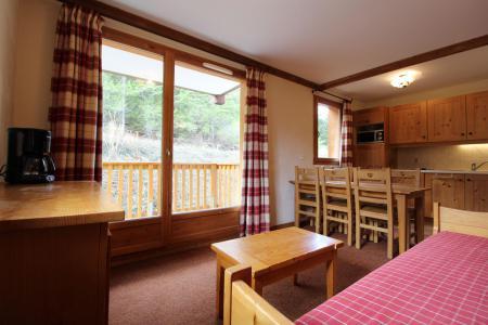 Location au ski Appartement 3 pièces 6 personnes (E122) - Résidence les Alpages - Val Cenis - Séjour