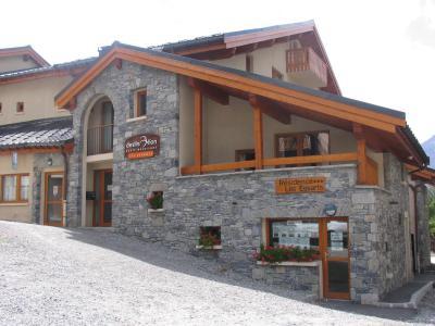 Vacances en montagne Résidence les Essarts - Val Cenis - Extérieur hiver