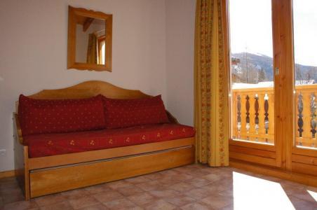 Location au ski Appartement 3 pièces 6 personnes (9) - Residence Les Essarts - Val Cenis - Canapé