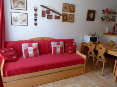Location au ski Appartement 2 pièces 4 personnes (B006) - Residence Pied De Pistes - Val Cenis - Table