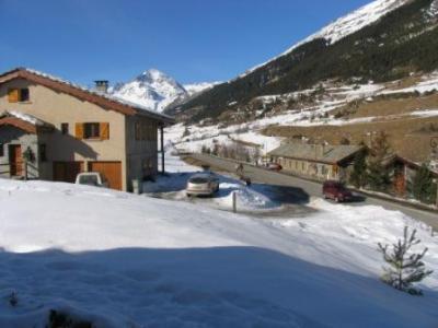 Location au ski Studio 3 personnes (002) - Residence Saint Sebastien - Val Cenis - Extérieur hiver