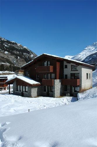 Location au ski Studio 3 personnes (002) - Residence Saint Sebastien - Val Cenis - Intérieur