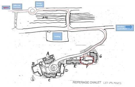 Location au ski Logement 3 pièces 6 personnes (VALF05) - Résidence Valmonts - Val Cenis