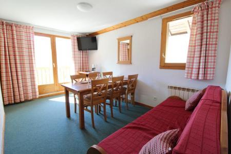Location au ski Appartement 3 pièces 6 personnes (G22 nest plus commercialisé) - Résidence Valmonts - Val Cenis - Séjour