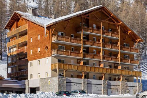 Ski en avril Les Terrasses De Labrau