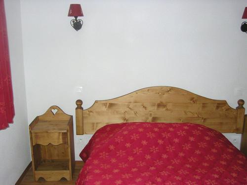 Location au ski Appartement 2 pièces cabine 6 personnes - Residence Central Park Labellemontagne - Val d'Allos - Chambre