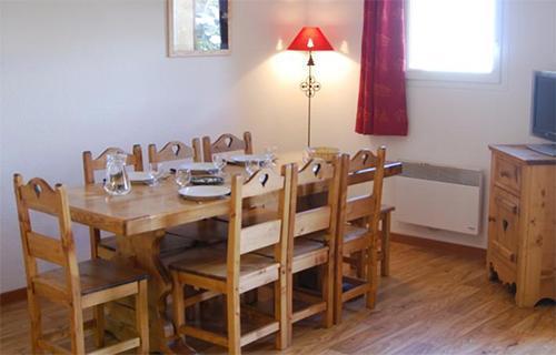 Location au ski Residence Central Park Labellemontagne - Val d'Allos - Salle à manger