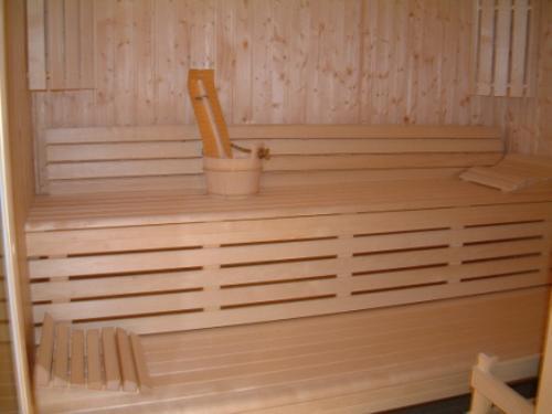 Location au ski Residence Central Park Labellemontagne - Val d'Allos - Sauna