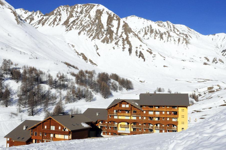 Skiverleih Les Balcons du Soleil - Val d'Allos - Draußen im Winter