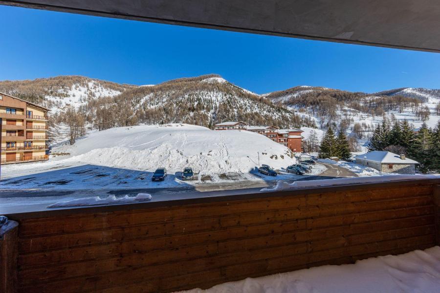 Rent in ski resort Les Terrasses de Labrau - Val d'Allos - Winter outside