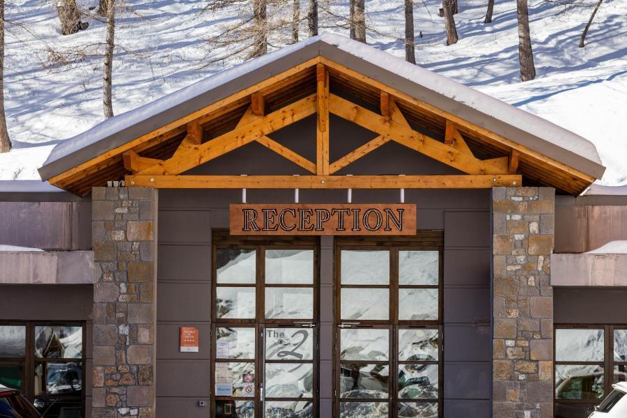Ski verhuur Les Terrasses de Labrau - Val d'Allos - Receptie