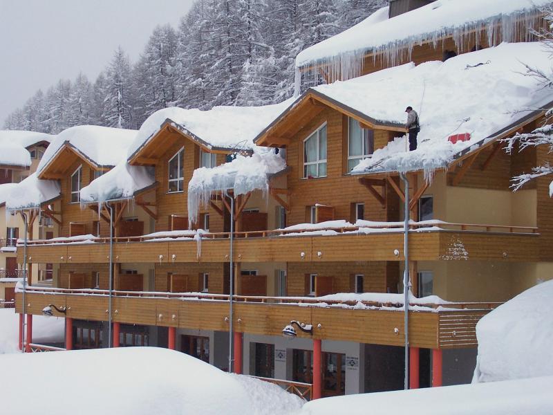 Каникулы в горах Résidence Central Park - Val d'Allos - зимой под открытым небом