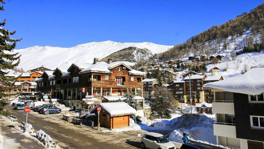 Location au ski Résidence Central Park - Val d'Allos - Extérieur hiver