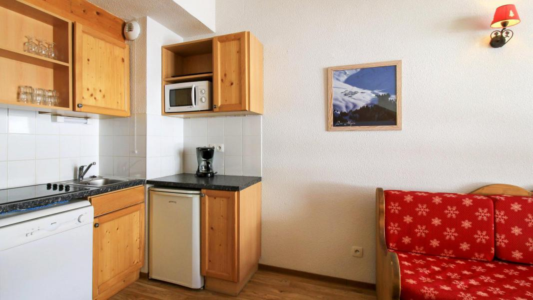 Аренда на лыжном курорте Résidence Central Park - Val d'Allos - Кухня