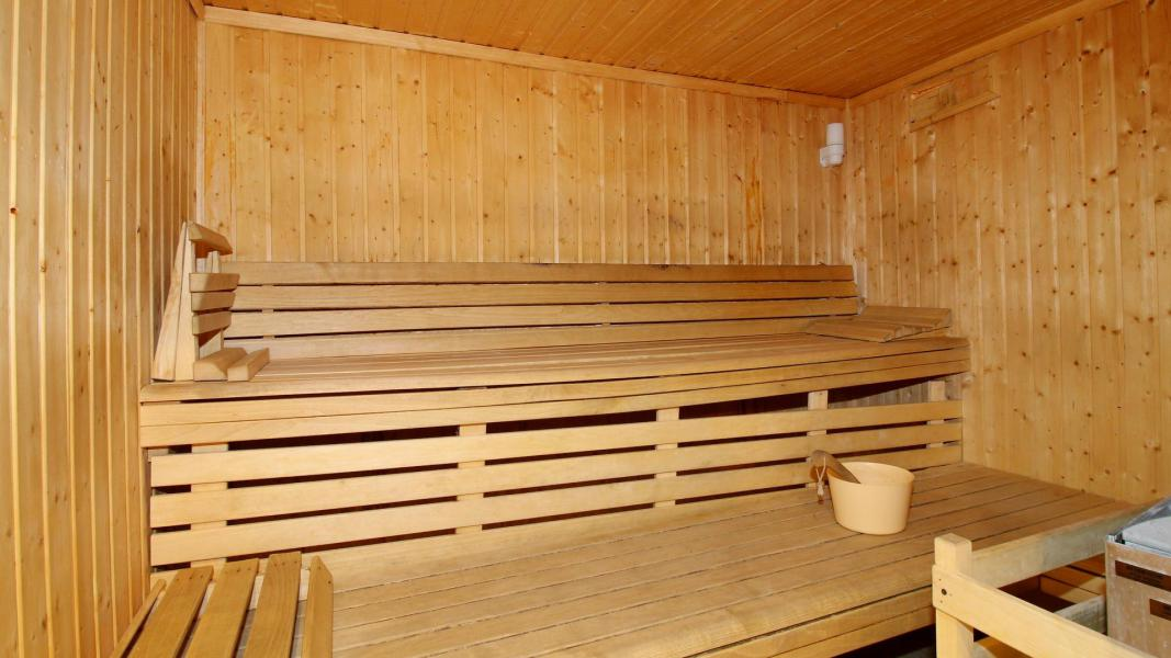 Location au ski Résidence Central Park - Val d'Allos - Sauna