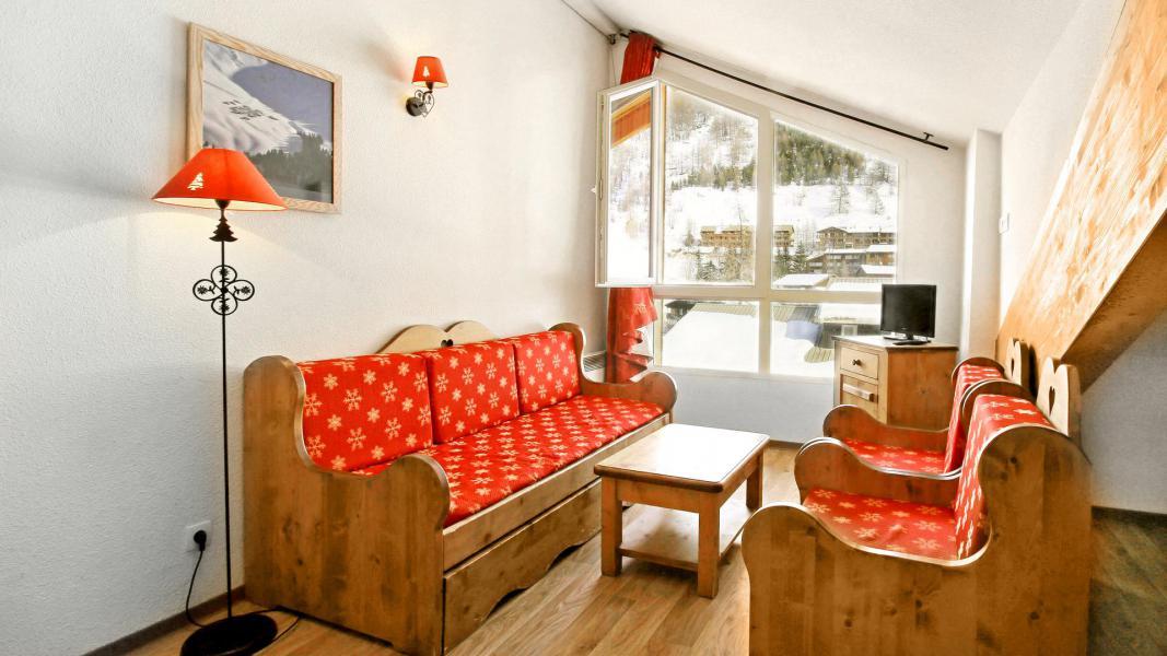 Location au ski Résidence Central Park - Val d'Allos - Séjour