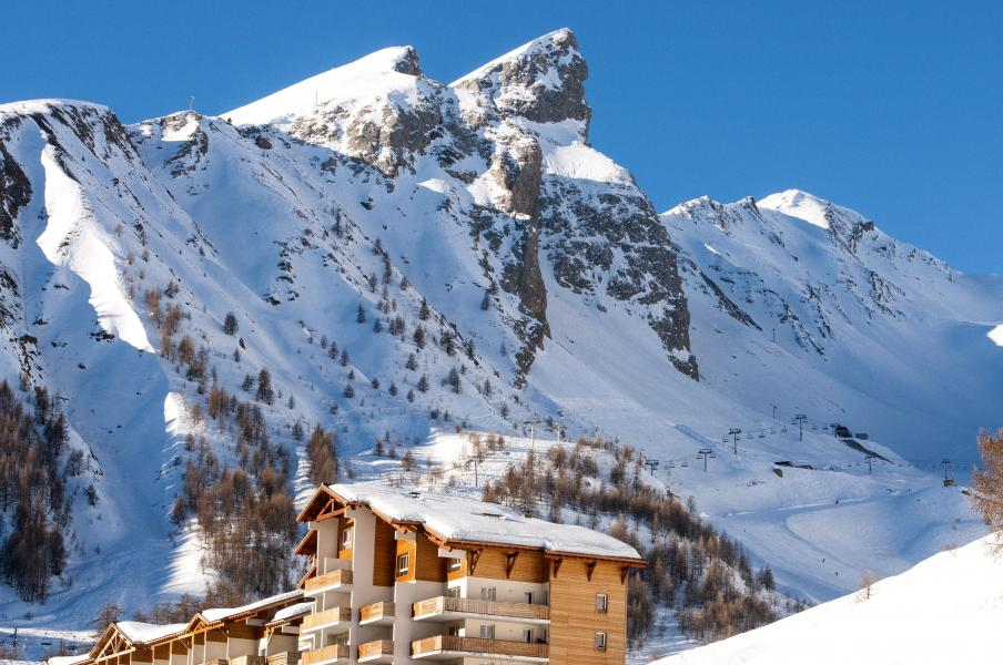Vakantie in de bergen Résidence Plein Sud - Val d'Allos - Buiten winter