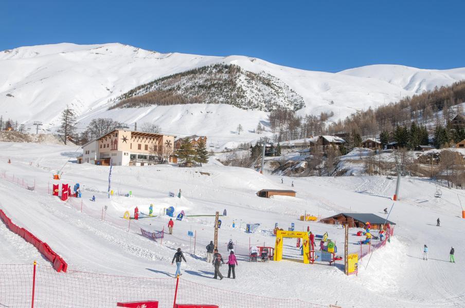 Wynajem na narty Résidence Plein Sud - Val d'Allos - Zima na zewnątrz