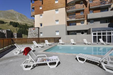 Location au ski Les Balcons Du Soleil - Val d'Allos - Piscine