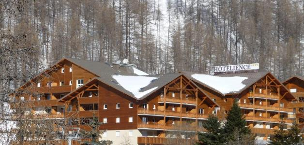 Rental Val d'Allos : Les Chalets du Verdon winter