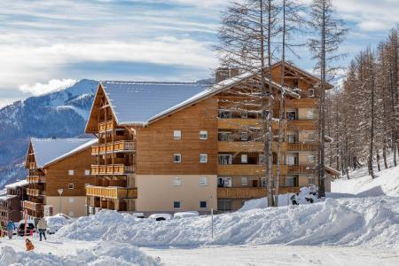 Rental Val d'Allos : Les Terrasses de Labrau winter