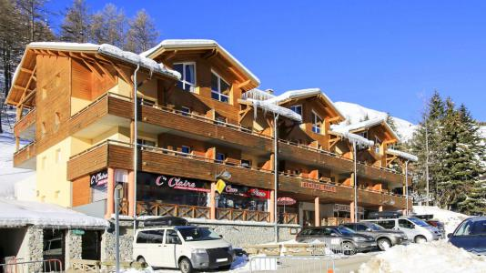 Rent in ski resort Résidence Central Park - Val d'Allos - Winter outside