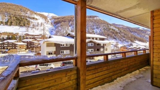 Location au ski Résidence Central Park - Val d'Allos - Balcon