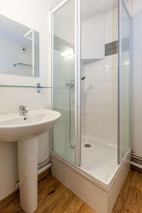 Location au ski Appartement 3 pièces 8 personnes - Residence Les Cimes Du Val D'allos - Val d'Allos - Douche