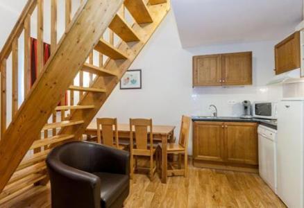 Location au ski Appartement duplex 2 pièces 8 personnes - Residence Les Cimes Du Val D'allos - Val d'Allos - Coin repas