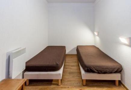 Location au ski Appartement supérieur 2 pièces 6 personnes - Residence Les Cimes Du Val D'allos - Val d'Allos - Chambre