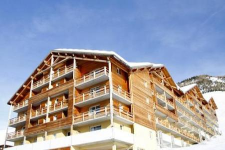 Location au ski Residence Les Cimes Du Val D'allos - Val d'Allos - Extérieur hiver