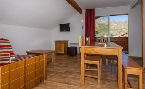 Location au ski Residence Les Cimes Du Val D'allos - Val d'Allos - Séjour